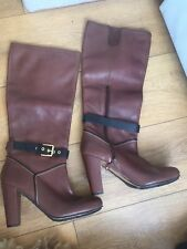 Women's Rockport AdiPrene By Adidas Knee High High Heel Boots Brown Size 7