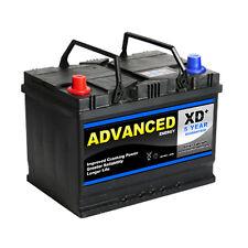 Pajero Mitsubishi 069XD Type Car Battery 75ah 630cca Advanced 5yr Warranty