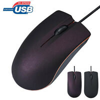 New Optical USB LED Wired Gaming Mouse For PC Laptop Computer Scroll Wheel Mice