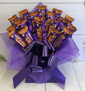 Cadburys Orange Twirl Chocolate Bouquet