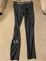 Men's Under Armour Black Spandex Compression Running Tights Large L