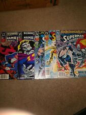 Superman: The Man of Steel Lot including 5 issues