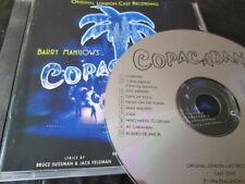 COPACABANA SOUNDTRACK LONDON CAST 94 CD: OST BARRY MANILOW NR MINT