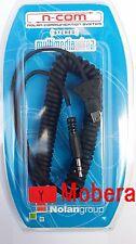 Nolan N-com multimedia cable tipo y con mini USB salida