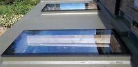 Flat Roof Rooflight Double Glazed Qty 2
