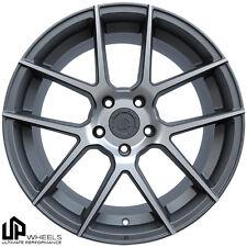 UP520 19x8.5 5x114.3 Matte Gunmetal ET35 Wheels Fits Mazda 3 Rx8 Eclipse Tc