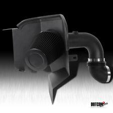 For 2000-2002 Dakota 3.7//4.7L V8 Dual Ram Air Intake Clear Piping+Black Filters