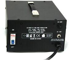 Elc 5000 Watt Voltage Transformer Converter with Builtin Regulator