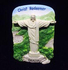 Christ Redeemer Brazil Statue O Cristo Redento 3D FRIDGE MAGNET SOUVENIR TOURIST