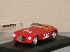 FERRARI 166 MM SP MILLE MIGLIA 1951 CASTELLOTTI & ROTA ART MODEL 1/43 Ref  218