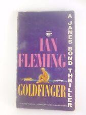 Goldfinger A James Bond Thriller By Ian Fleming Paperback 1959