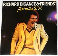 """Richard Digance - Live! At the Q.E.H. - original U.K. 12"""" LP vinyl"""