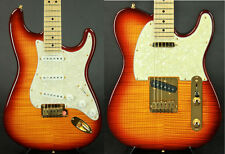 1993 Fender Custom Shop Flame Maple Top Stratocaster & Telecaster Set #18 of 50