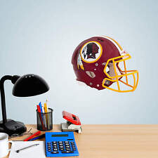 "Washington Redskins Helmet Vinyl Fathead Wall Graphics 11"" X 9"" poster sticker"