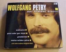 Wolfgang Petry - Der Himmel brennt - CD Album 3 CDs Box - 36 Hits - Wahnsinn ...