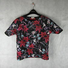 Stunning! River Island Floral Top/Blouse Size 10 Stylish Fashion Clothing