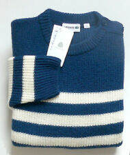 """Pullover neuf, Col rond, 100% pure laine vierge, woolmark """"Lacoste - T. 7 ou 2XL"""