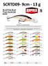 Rapala Scatter Rap® Tail Dancer Fishing Lure 9cm 13g Various Colours