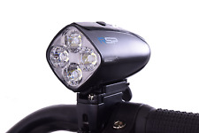 Raleigh RX480 Front USB Rechargeable Commuter Bike Light Bright 480 Lumens Black