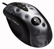 Logitech mx518 Refresh ópticos gaming mouse atado hilo negro
