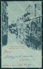 Padova Città Chiaro di Luna STRAPPINO cartolina QT1412