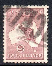 Australia: 1923 Roo 2/- SG 74 used
