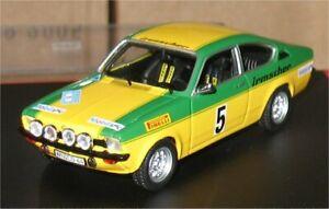 Opel Kadett GT-E - Rally Sachs 1976 - Smolej - Troféu