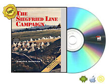 The Siegfried Line Campaign by MacDonald, Charles Brown WWWII Anniversary Ed CD