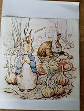 Beatrix Potter/quilting pannello/Peter Rabbit/Llinen/Cotone/Charm/Bambino Tessuto