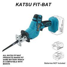 More details for katsu cordless pruning reciprocating saw (no btry) fits makita