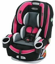 Graco Baby 4Ever All-in-1 Convertible Car Seat Infant Child Booster Azalea NEW
