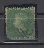 C2914/ BRITISH ST VINCENT – VICTORIA – SG # 2 USED – CV 245 $