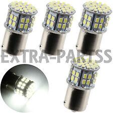 4x White 1156 BA15S Car Rear Turn Light Signal Super Bright 50 SMD LED Bulb 12V