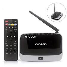 CS918T Quad Core Android 4.4 Smart TV Box 2.4G WiFi 1080P Media Player 2G 16G EU