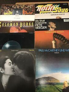 LP Sammlung Amiga Lizens ( 10 LPs)
