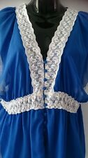 Ladies size 12 oceanic lace trim top BNWT - Crossroads