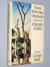 SWANS REFLECTING ELEPHANTS - Edward James (1982) Eccentric art Dali Picasso &c.