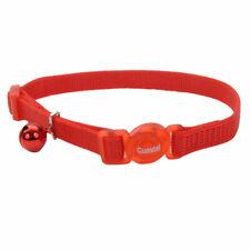 "New listing Coastal Safe Cat Nylon Adjustable Breakaway Collar 3/8"" X 8""-12 choose color"