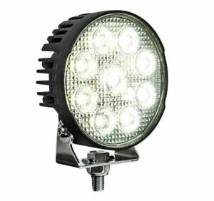 """Buyers Products 1492231, Ultra Bright 4.5"""" LED Flood Light w/ Strobe, Round"""
