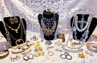 Vintage & Modern Mixed Costume Jewelry Lot - ART, Trifari