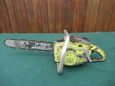 "Vintage PIONEER 1200  Chainsaw Chain Saw with 17"" Bar"