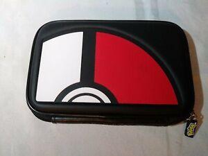 Licensed Pokemon Game Travel Carry Case Black DVM333 For DS (N.O.S.)