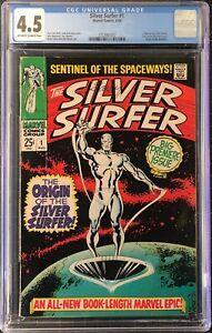 Silver Surfer #1, CGC 4.5 - SA Grail - NO RESERVE