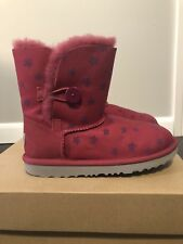 Ugg Bailey Button girls Size 3 boots