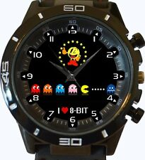 I Love 8 Bit Pacman New Trendy Sports Series Unisex Gift Watch