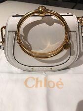 Pre-owned Chloe Nile 2017 Off White Bracelet Crossbody Bag