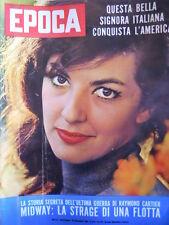 EPOCA n°625 1962 Anna Moffo - Inserto di Raymond Carter -  [C81]