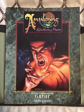 Vampire The Masquerade Awakening Diablerie Mexico White Wolf Sourcebook Softback