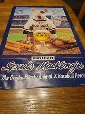 Budweiser Doyer Poster LA light baseball bar Dodgers Hot Chick bud light Angels