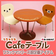 New!!Re-ment Miniature SAN-X Rilakkuma Cafe Table Chairs set from Japan